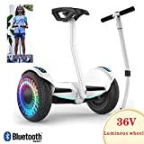 QX Scooter Hoverboard Self-Balance Board 10 'scooter Elettrico Autobilanciante con Altoparlante...