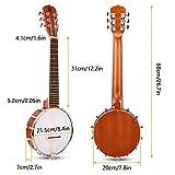 Immagine 1 vangoa banjo 6 corde sapele