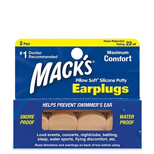 Macks Pillow Soft - Tapones para oídos
