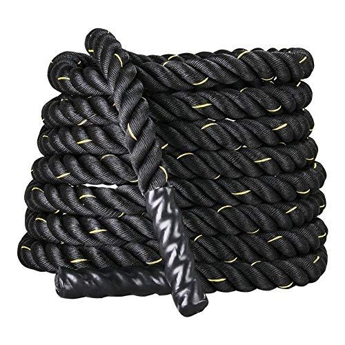 Training Fitness Battle Rope Durchmesser 25/38 / 50mm Länge 9/12 / 15m Muskeltraining Kann Für Zu Hause Und Im Freien Verwendet Werden,25mm*9m