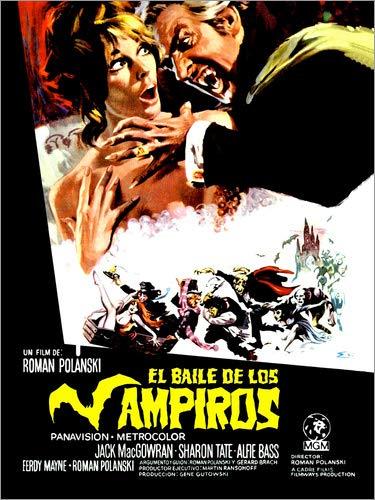 Poster 30 x 40 cm: Tanz der Vampire (spanisch) von Everett Collection - hochwertiger Kunstdruck, neues Kunstposter