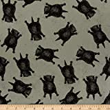 Goose Tales by J. Wecker Frisch for Riley Blake Designs is great for quilting apparel and home decor. It is lightweight very versatile and easy to sew. This print features tossed sprawled-out cats. Fabric Type: 100% Cotton 43'' wide. Fabric is sold b...