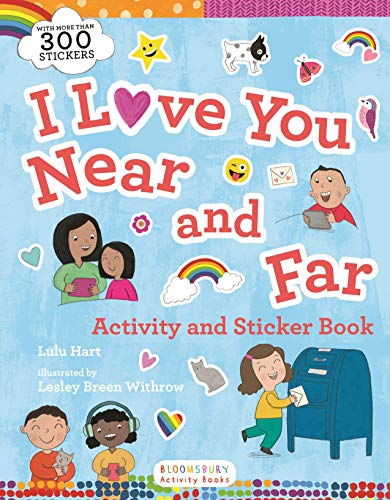 I Love You Near and Far Activity and Sticker Book