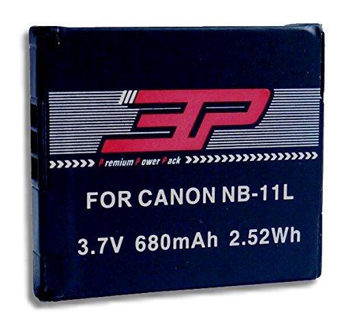 3P für NB 11L / NB 11LH 680mAh - für Canon ixus 175, IXUS 180, IXUS 285, Ixus 170 / ixus 165 / ixus 160 / SX410 / ixus 275 / ixus 265 / Ixus 145 / Ixus 150 / SX400