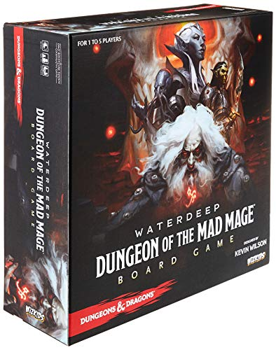 D&D Waterdeep: Dungeon of the Mad Mage Adventure System Board Game Standard Edition- English