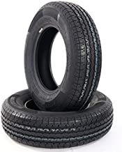 2PCS ST205-75R-15 Trailer Tire Load Range D TIRES 205 75 15 8PR Tubeless Tires