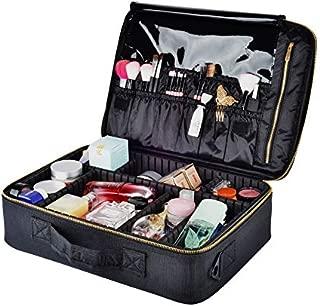 Portable Makeup Case/Bag, 2 Layer 15.4