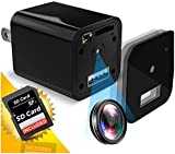 Hidden Camera | USB Spy Camera | Spy Camera | Mini Spy Cam | Nanny Cam | 1080P Full HD | Charger | Has Motion Detection | Loop Recording | Flash Transfer Stick