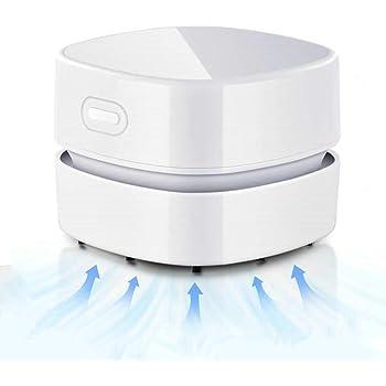 GuDoQi Aspiradora de Mesa, Mini Limpiador de Polvo, Inalámbrico y USB Recargable, Tiempo de Ejecución de 90 Minutos, Giratorio de 360° para el Hogar, la Escuela, la Oficina, el Teclado: Amazon.es: Hogar
