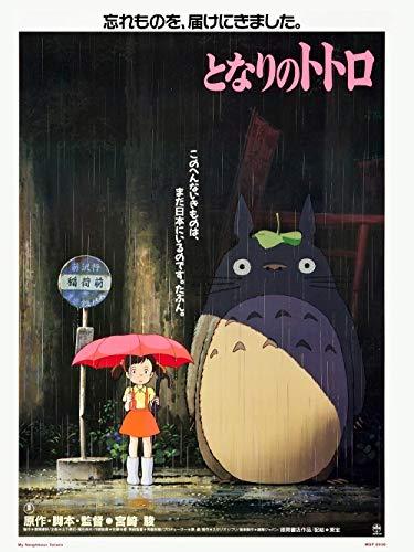 Mein Nachbar Totoro/Totoro Studio Ghibli Poster,12x18inches,30x46cm