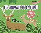 Mon livre sonore des animaux de la forêt à caresser