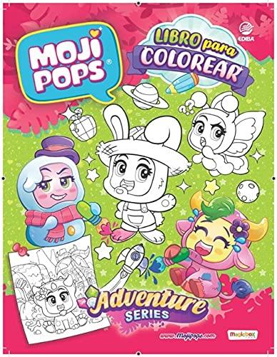 Libro MojiPops Serie Adventure - España
