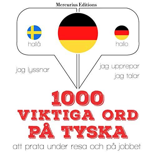 1000 viktiga ord på tyska cover art
