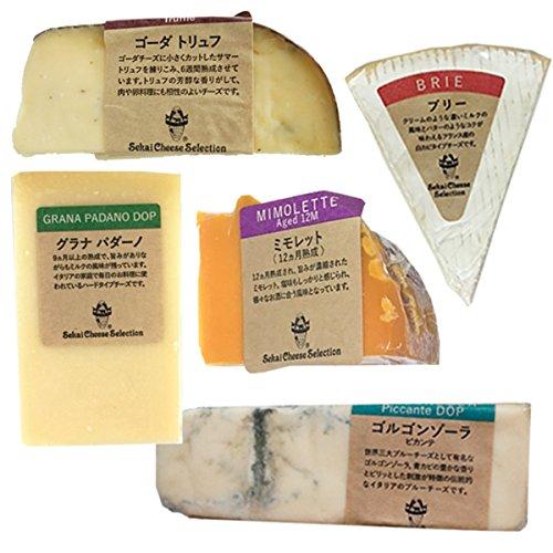 チーズ おつまみ 詰め合わせ 食べ比べ 世界のチーズ 5種セット ブリー ゴルゴンゾーラ ゴーダトリュフ ミモレット