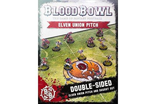Games Workshop 99220910003Blut Schüssel Elf Pitch und dugouts Board Game