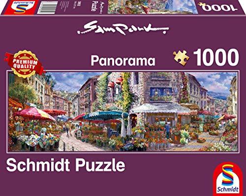 Schmidt Spiele Puzzle 59652 Sam Park, Frühlingsatmosphäre, 1.000 Teile Puzzle, bunt