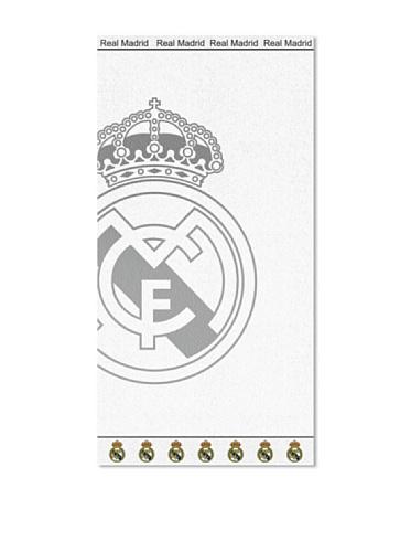 Secaneta Toalla Jacquard Real Madrid Blanco