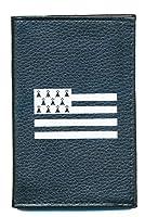 Etui pour carte grise papier de voiture permis et assurance Protection en croute de cuir vachette Doublure synthetique