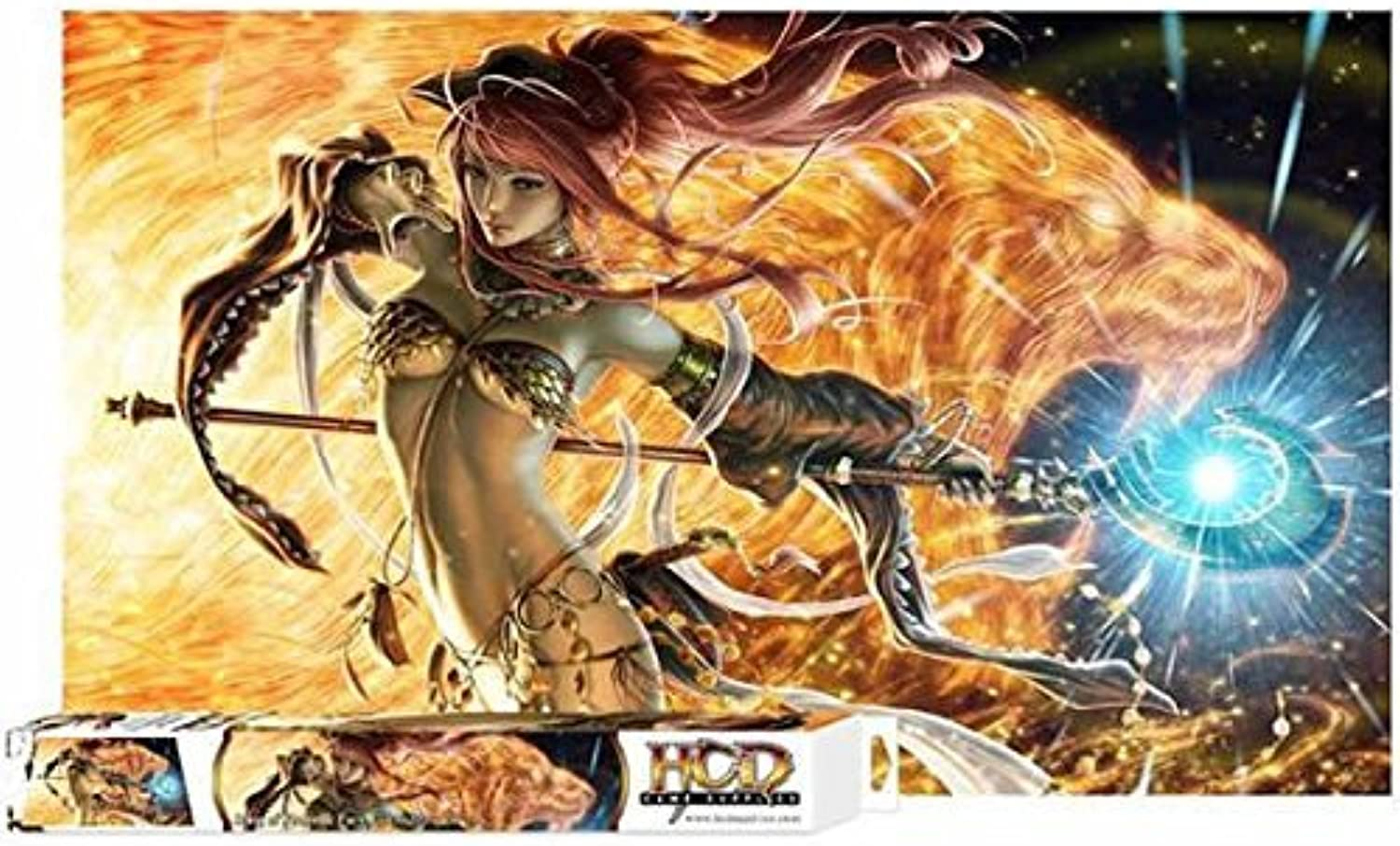 Playmat  Song of Flame and Fury 96674 by HC and D Supplies
