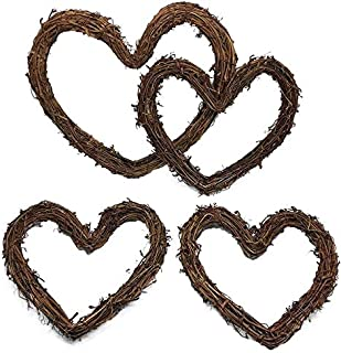 Best grapevine heart wreath Reviews