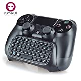 PS4 CONTROLLER KEYPAD - Playstation 4 PS4 Bluetooth drahtlose Minitastatur / Chatpad für Dualshock4-Controller