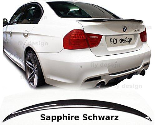 Car-Tuning24 54694582 wie Performance und M3 3er E90 SPOILER HECKSPOILER HECK Typ Performance LACKIERT SAPHIRSCHWARZ 475