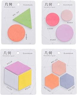 geometric sticky notes