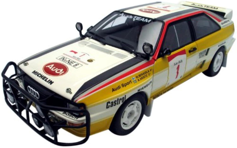 Audi Quattro LWB A2, Rallye Safari 1984, Mikkola Hertz  1 - 1 18