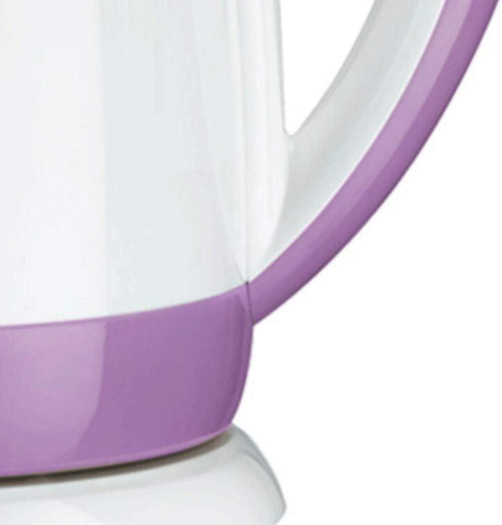 Mode Bouilloire Maison Bouilloire électrique en Acier Inoxydable Double Isolation Chambre à Coucher Cuisine de Bureau Grande capacité Mise Hors Tension Automatique 1.5L Bleu Purple