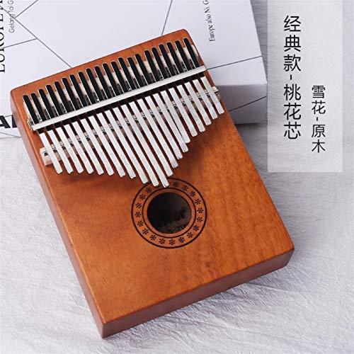 SYXMSM Kalimba Daumenklavier Kalimba Mahagoni Kalimba 17-Ton-Anfänger Finger Klavier Instrument (Color : C)