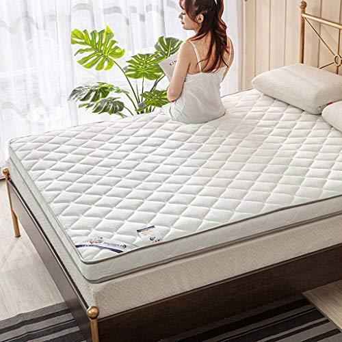 SATATAM Japanse Bed Matras, Hard Mattress Futon Mattress Topper Traditionele Japanse Futon Opvouwbaar Kussen Matten Draagbare Slaapkussen Queen Single Size
