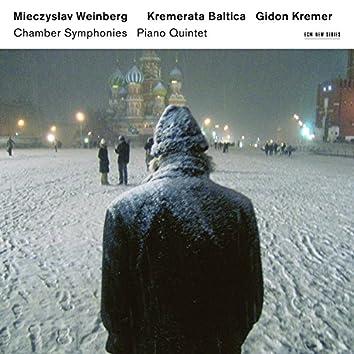 Mieczysław Weinberg: Chamber Symphonies, Piano Quintet