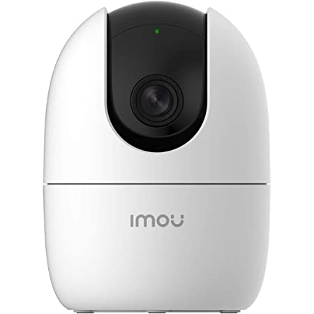 Imou 360 Degree Security Camera (White),Up to 256GB SD Card Support,WiFi & Ethernet Connection,1080P Full HD,Privacy Mode,Alexa Google Assistant,Human Detection,2-Way Audio,Night Vision