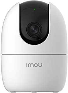 Imou 360 Degree Security Camera (White),Up to 256GB SD Card Support,WiFi & Ethernet Connection,1080P Full HD,Privacy Mode,...