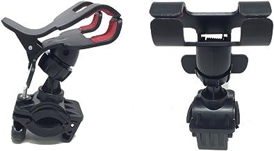 取付簡単 自転車向けスマートフォンホルダー iPhone7 plus、iphone6等の様々なスマホに対応(最大12cmまで開口) 360度回転可能 クリップ式