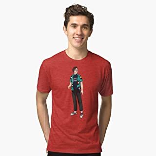 Richie Tozier Bill Hader IT Chapter 2 Triblend TShirt T shirt Hoodie for Men Women Unisex.