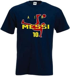 SMARTZONE Lionel Messi FC Barcelona Soccer Fan Air Messi T-Shirt