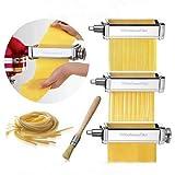 Set confeccionador de pâtes accessoire pour KitchenAid 5ksmpra. Accessoire original KitchenAid avec 2ans de garantie espagnole