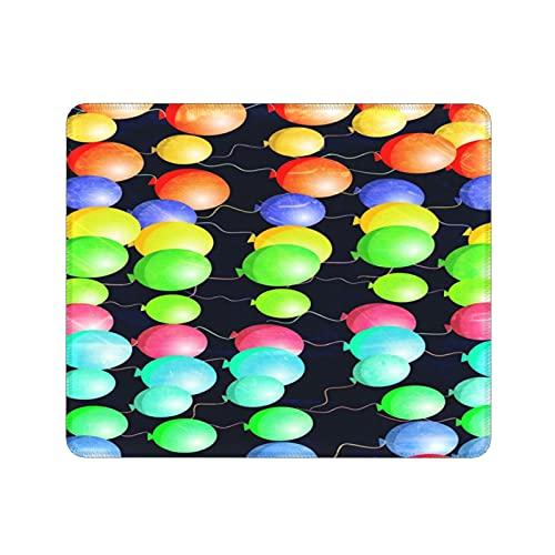 Mini Alfombrilla de Ratón,palloncini per Feste di Compleanno celebrati,tappetini per Mouse lavabili,comodi tappetini per Mouse,tappetino per Mouse da ufficio (11,8X9,8 pollici)