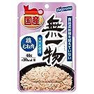 [Amazon限定ブランド]はごろも にゃんチュラル キャットフード 国産 鶏むね肉 40g×30個(ケース販売) 無一物 パウチ