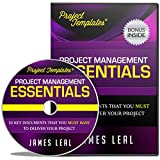 SAVES TIME & EFFORT with PROJECT TEMPLATES® 52 Essential Project Management Documents – OFFICE WORK CD ROM - Project Processes, Procedures, Strategies, Plans, & Forms
