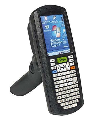 TouchStar TS8000 Intelligent Scanner, Standard Range Imager, Alpha Numeric, CE7.0, poignée, batterie haute capacité, Wi-Fi ABGN Terminal Emulation App Lock, noir, 26901/001/655024/001/655023/001