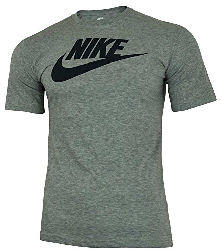 Nike Futura T-Shirt manches courtes Homme Gris FR : S (Taille Fabricant : S)