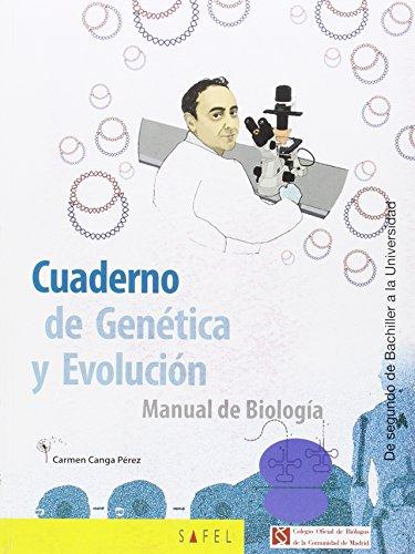CUADERNO DE GENÉTICA Y EVOLUCIÓN: MANUAL DE BIOLOGÍA