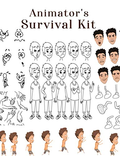 Animator's Survival Kit: How to Draw Animation for Beginners, How to Draw Animation Book, How to Draw Animation People, How to Draw People Reference, How to Draw People