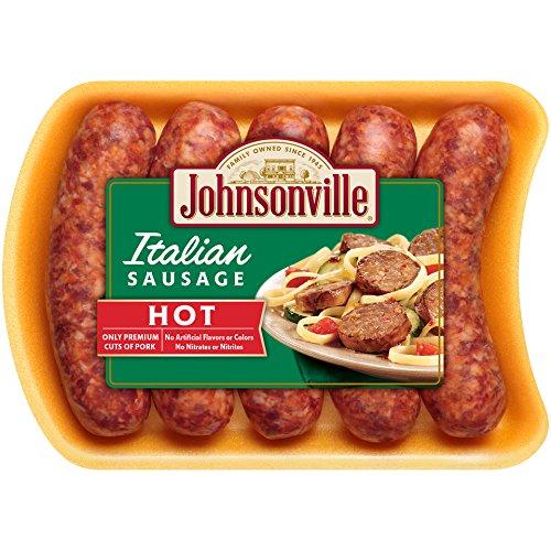 Johnsonville, Hot Italian Sausage, 19 oz (Frozen) - Paleo