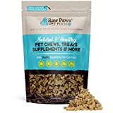 Raw Paws Mini Dog Biscuits, 10-oz - Made in USA - Mini Dog Bones for Puppies - Small Training Treats for Dogs - Low Calorie Sweet Potato Bones with Honey - Crunchy Dog Treats - Wheat, Corn & Soy Free
