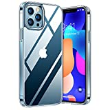 TORRAS Diamond Series für iPhone 12 Pro Max Hülle (Vergilbungsfrei) Extrem Transparent Starke...