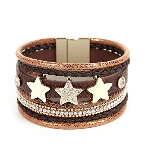 Star Boho Wrap Cuff Bracelet $7.00 (80% OFF Coupon)