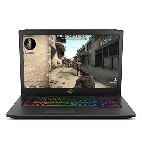 "ASUS ROG Strix Scar Edition Laptop, 17.3"" 120Hz Full HD 3ms, Intel Core i7-8750H, GeForce GTX 1050 Ti 4GB, 8GB DDR4, 256GB SSD + 1TB FireCuda, Windows 10 GL703GE-IS74 (Renewed)"